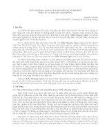 MẪU THƯỢNG NGÀN CỦA NGUYỄN XUÂN KHÁNH NHÌN TỪ LÍ THUYẾT ĐÁM ĐÔNG