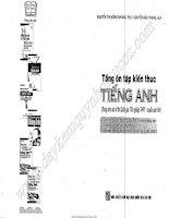 Tổng ôn tập kiến thức tiếng Anh Nguyễn Thị Hồng Nhung Nguyễn Bảo Trang