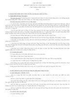 Chuyên đề thi công chức nhà nước