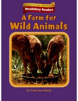 a farm for wild animals