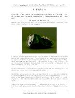 Tài liệu ôn thi ĐH môn Hóa của trường THPT chuyên Hùng Vương