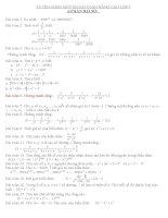 Tuyển tập một số bài toán nâng cao lớp 7 hay và khó