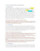 Bài tập tình huống luật kinh doanh (ôn thi kế toán hành nghề)