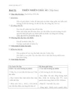 giáo án địa lý 7 bài 52 thiên nhiên châu âu (tiếp theo)