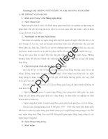 Giáo trình tài chính tiền tệ chương 5 hệ THỐNG NGÂN HÀNG và THỊ TRƯỜNG tài CHÍNH   cđ phương đông
