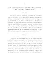 VỊ TRÍ, VAI TRÒ của GIAI cấp CÔNG NHÂN VIỆT NAM TRONG bối CẢNH TOÀN cầu HOÁ HIỆN NAY