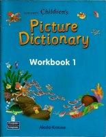 longman children''s picture dictionary workbook 1