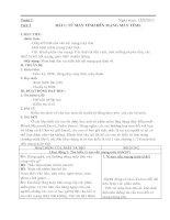 Giáo án Tin 9 Học kì 1