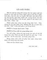Hướng dẫn học và dịch tài liệu Tiếng Anh