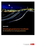 Oil and gas production handbook bAn introduction to oil and gas production