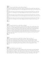 85 câu trắc nghiệm kế toán máy có đáp án