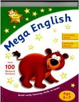 mega english age 5-7