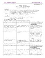 Giáo án Vật lí lớp 10 - Chương trình cơ bản