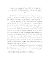 """""""TUYÊN NGÔN của ĐẢNG CỘNG sản"""" và vấn đề NÂNG CAO TRI THỨC, TRÍ TUỆ của GIAI cấp CÔNG NHÂN HIỆN đại"""