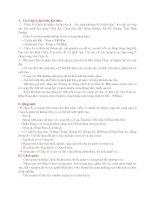 đề cương ôn tập kiểm tra một tiết địa 8
