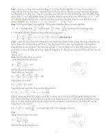 20 bài tập về mạch dao động LC