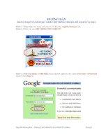 Hướng dẫn đổi mật khẩu Email của Sở