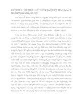 HỒ CHÍ MINH với THỰC HÀNH TIẾT KIỆM, CHỐNG THAM ô, LÃNG PHÍ, CHỐNG BỆNH QUAN LIÊU