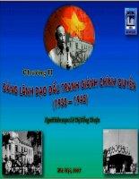 Lịch sử Đảng Cộng sản Việt Nam (P2)