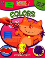 colors my first sticker book