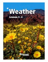 weather lessons 3-4