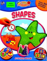 shapes my first sticker book