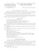 2414 - BAN HANH CAU TRUC DE THI GIAO VIEN DAY GIOI TINH NGHE AN