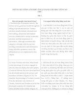 NHỮNG bài TIẾNG ANH học THUẬT DÀNH CHO học VIÊN CAO học