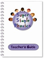 super simple phonics teacher''''s guide