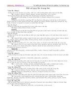 Một số quy tắc nhấn trọng âm