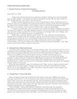 Bài tập 12 thì tiếng Anh