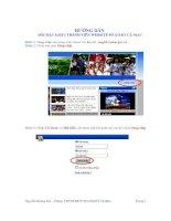 Huong dan thay doi mat khau dang nhap Website So GD&DT Ca Mau