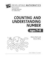 counting and understanding numbers ages 7-8