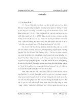 Nhân vật trong tiểu thuyết Nguyễn Đình Tú
