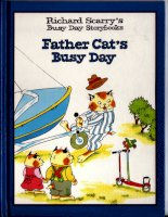 richard scarry father cat''''s busy day