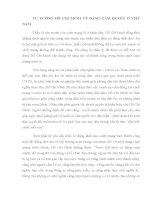 TƯ TƯỞNG hồ CHÍ MINH về ĐẢNG cầm QUYỀN ở VIỆT NAM