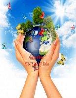 bài tiểu luận môn sinh thái học và bảo vệ môi trường sử dụng phân bón và hóa chất trong nông nghiệp