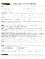 chương 1 dạng 4: tính thời gian trong dao động điều hòa