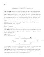 đề thi ôn tập vật lý khảo sát, bồi dưỡng học sinh giỏi