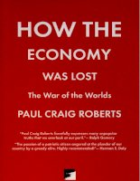 roberts - how the economy was lost; the war of the worlds (2009)