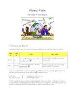 Phrasal verbs giới thiệu về cụm động từ