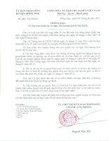Thông báo Nghỉ tết Dương lịch 2012