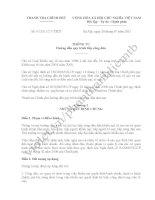 Thông tư 07/2011/TT-TTCP Hướng dẫn quy trình tiếp công dân