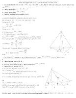 bài tâp hình và 100 đề thi học kì 2 có đáp án đầy đủ