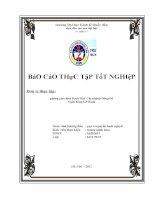 báo cáo thực tập tại phòng giao dịch bạch mai- chi nhánh đông đô – ngân hàng dầu khí toàn cầu gpbank