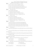 Chu de 1 - Dai cuong song co hoc.