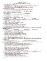 Trắc Nghiệm Sinh 12 Phần 6