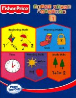 fisher price grade 1 workbook