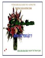MT7 - Bai7 - Tạo dáng và trang trí lọ hoa