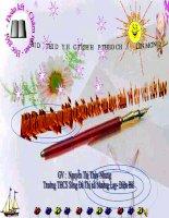 Tài liệu dạy học tích hợp liên môn Âm nhạc  Tiết 31 Bài hát Tiếng ve gọi hè